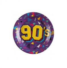 10 assiettes annees 90 | jourdefete.com