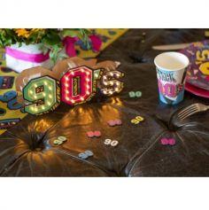 12 Confettis de table - Années 90