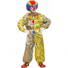 Déguisement Clown Farceur Adulte - Taille au Choix