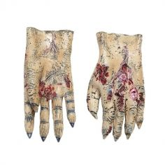 Gants Latex de Zombie