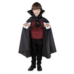 Cape de Vampire Enfant Noire