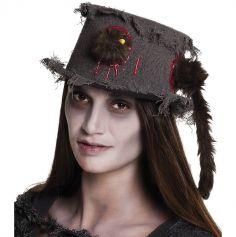 Chapeau de fossoyeur zombie