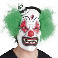 Masque en Latex de Clown Défiguré