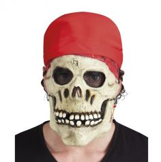 Masque de Squelette Pirate