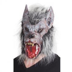 Masque de Loup-Garou avec Fourrure