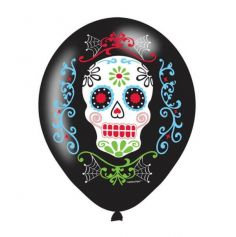 6 Ballons de Baudruches Day Of The Dead