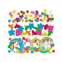 Confettis de table Licorne