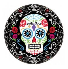 Pack 10 Assiettes Day Of The Dead