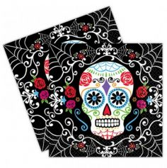 Pack 20 Serviettes Day Of The Dead
