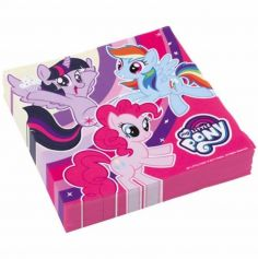 """Sachet de 20 serviettes """"My Little Pony"""""""