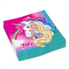 """Sachet de 20 serviettes """"Barbie Dreamtopia"""""""