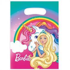 "Sachet de 8 pochettes ""Barbie Dreamtopia"""