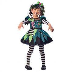 Halloween – Déguisement Fille – Miss Frankenstein - Taille au Choix