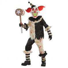 Halloween – Déguisement Garçon – Clown Tueur - Taille au Choix