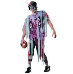 Déguisement de Zombie Quaterback Homme - Taille M