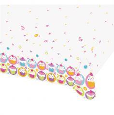 Nappe en Plastique Cupcakes