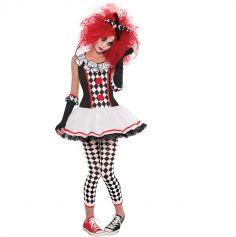Costume Arlequine ado fille