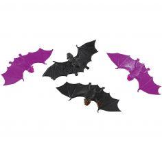 6 Chauves-Souris - Décoration de Table Halloween