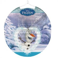 "Lampion boule Olaf ""Reine des Neiges"" Disney®"
