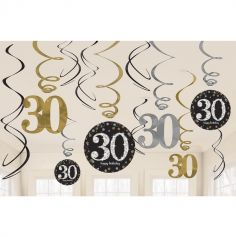 Suspensions 30 Ans - Or / Argent