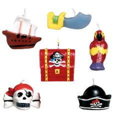 "Bougies d'Anniversaire ""Pirate"""