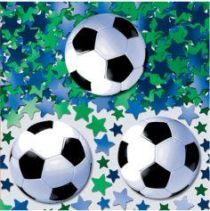 "Confettis de Table ""Anniversaire Football"""