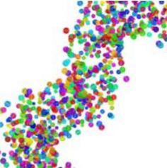 1kg de confettis en sachet