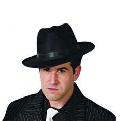Chapeau de Gangster Borsalino Noir