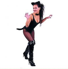 set de déguisement de chatte noire