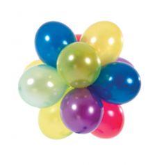100 Ballons de Baudruche Coloris Assortis