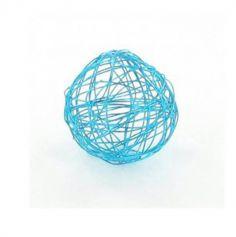 12 Boules en métal – Turquoise