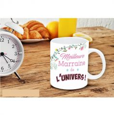 "Mug ""Meilleure marraine de l'univers"""