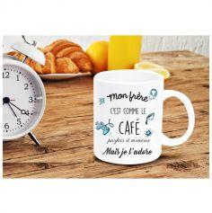 Mug - Frère comme le café