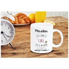 Mug - Soeur comme le café