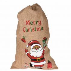 Hotte du Père Noël - Merry Christmas