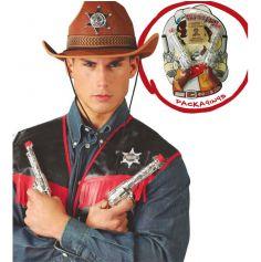Set d'Accessoires de déguisement Pistolets de Cow-Boy