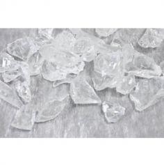 Morceaux de verre décoratif - Transparent