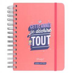 Agenda 2019-2020 - Journalier - Cette Année Je Déchire Tout - Mr. Wonderful