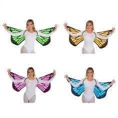 Ailes de Papillon - Adulte - Couleur au Choix | jourdefete.com