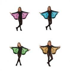 Ailes de Papillon - Enfant - Couleur au Choix | jourdefete.com