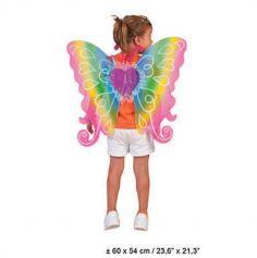 Ailes de Papillon Multicolore - Enfant