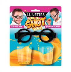 paire de lunettes shot avec verres | jourdefete.com