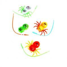 Joujou - Araignée avec Lanceur - 7 cm - Couleur Aléatoire