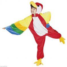 Costume de Perroquet Enfant - Taille au Choix