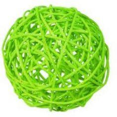 Assortiment de Boules Rotin Vert