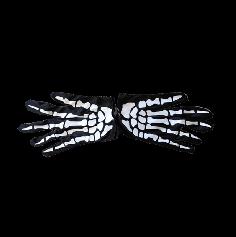gants squelette adulte   jourdefete.com