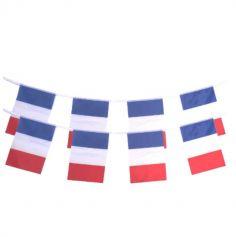 guirlande 8 pavillons tricolore france | jourdefete.com