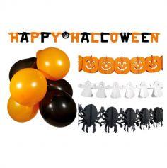 kit decoration guirlandes halloween | jourdefete.com
