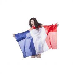 poncho tricolore france | jourdefete.com