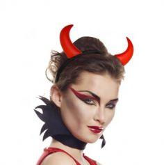Serre-tête Diable Rouge Adulte